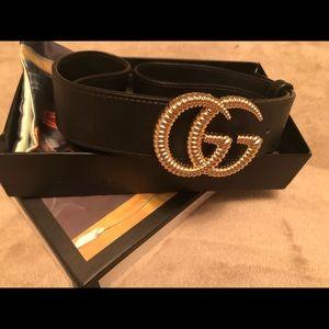 Double GG Gucci belt